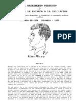 01 - 1950 - Aun Weor - El Matrimonio Perfecto o la Puerta de Entrada a la Iniciación