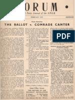 Spgb Forum 1953 5 Feb