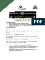 Agenda  IV Cumbre de Líderes Final
