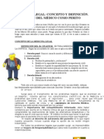 ML 1-Concepto Medico Como Perito (1)