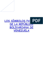 Símbolos patrios de Venezuela