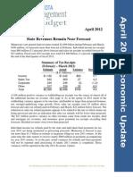 April 2012 Economic Update