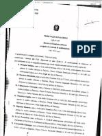 Proced 3716 2011 Arch Sandro d'Arpa Denuncia Ciampolillo e Altri Rinascita Isolana Per Diffamazione Archiviata