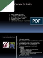 Aspectos Técnicos de la Vinificación en Tinto (1)