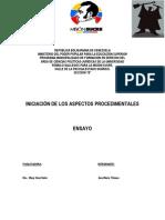 Formalidades Esenciales y No Esenciales en El Proceso