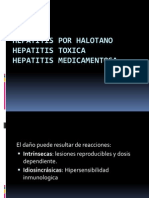Hepatitis Por Halotano
