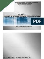 Clase 5 Unidad 4 Volumetria de Precipitacion