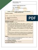 Guia de Actividades Unidad 1 2012 I TERMODINAMICA