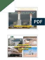 Prospectiva y Estado Actual de Proyectos Termoelectricos 2