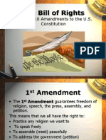 Bill of Rights PowerPoint for ESL Citizenship lesson plan