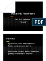 Desarrollo Placentario en PDF