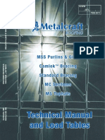Metalcraft Structural Technical Manual Feb 2011