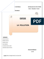 Exposé sur la pollution