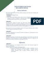 Reglamento Torneo Socios - CCP. CONF.1