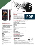 KYOCERA e4000 Product Brochure