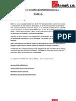 Portafolio de Servicios Inmel s.a.