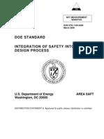 Integration of Safety on Design