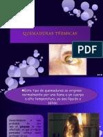 QUEMADURAS TÉRMICAS