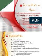 5cc77358148ce1244a0ad609067e7894 Expose Sur Les Syndicats Au Maroc