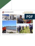 Southern Perú - El uso del agua en nuestras operaciones