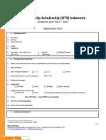 OTS ApplicationForm 2012-2013 R1