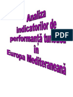 Analiza Indicatorilor de Performanta Turistica in Europa Mediteraneana.doc