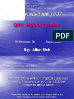 737 QRH Memory Items