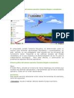 Entorno gráfico del sistema operativo Canaima dirigido a estudiantes