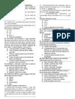 Questionário Gramática e Texto (P2-T1/2012)