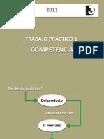 teórico Competencia