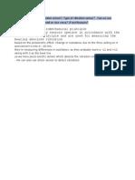 Working Principle of Vibration Sensor