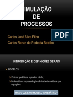 APRESENTAÇÃO - SEMINÁRIO DE SIMULAÇÃO DE PROCESSOS