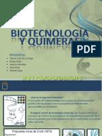 Biotecnologia y Quimeras