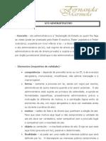 Roteiro de Aula - Ato Administrativo - 2012.02