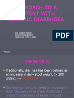 Approach to a Patient With Chronic Diarrhoea