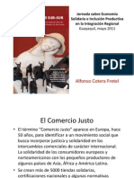 Alfonso Cotera Economia Solidaria