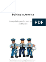 Policing in America--Assignment 4