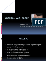 Arousal and Sleep