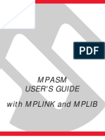 MPASM USER'S GUIDE_with MPLINK and MPLIB