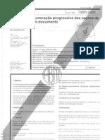 16893355 Abnt NBR 6024 Numeracao Progressiva de Documentos
