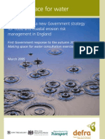2005 Making Space for Water DEFRA