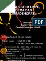 Fungsi Sistem Limfe Edema Dan Limfadenopati