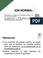 Audicion Normal