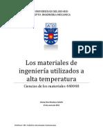 Materiales a Altas Temperaturas
