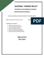 Informe Final Educacion Preventiva Uso Indevido de Drogas