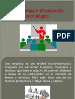 La empresa y el desarrollo tecnológico