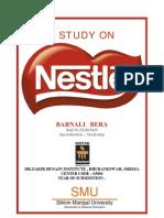 A Study on Nestle India