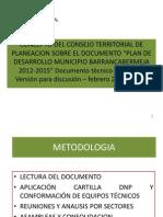 PRESENTACION Concepto Del Ctp PD 2012 -2015