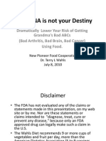 Dna Not Your Destiny-terry Wahls