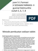 Kuliah Tek for Solid Pak Gusmal